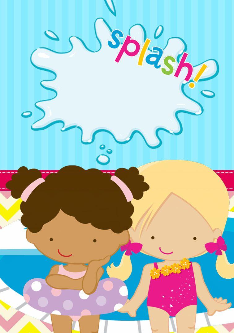 Passatempo da Ana: Pool Party (Menina) | Festas na piscina ...