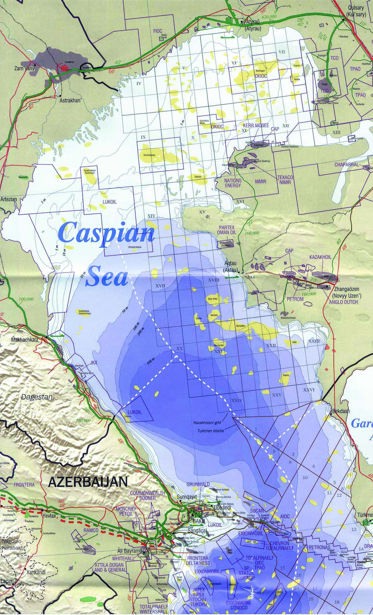 The Caspian Sea | Future earth, World geography, Map