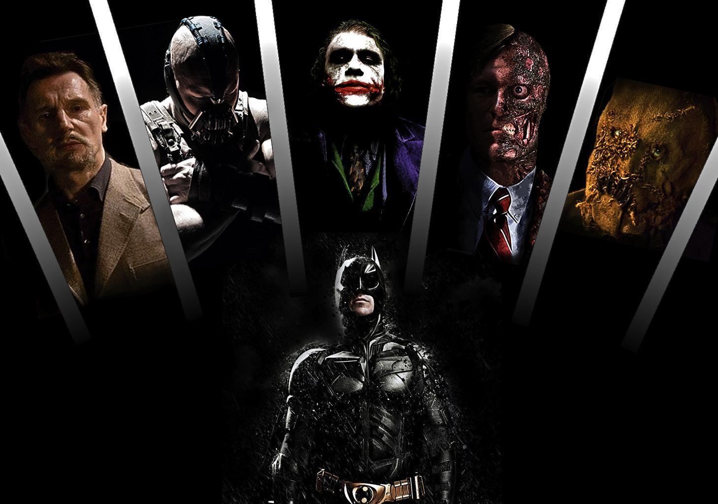 Batman Villains Joker Is The Best The Dark Knight Trilogy