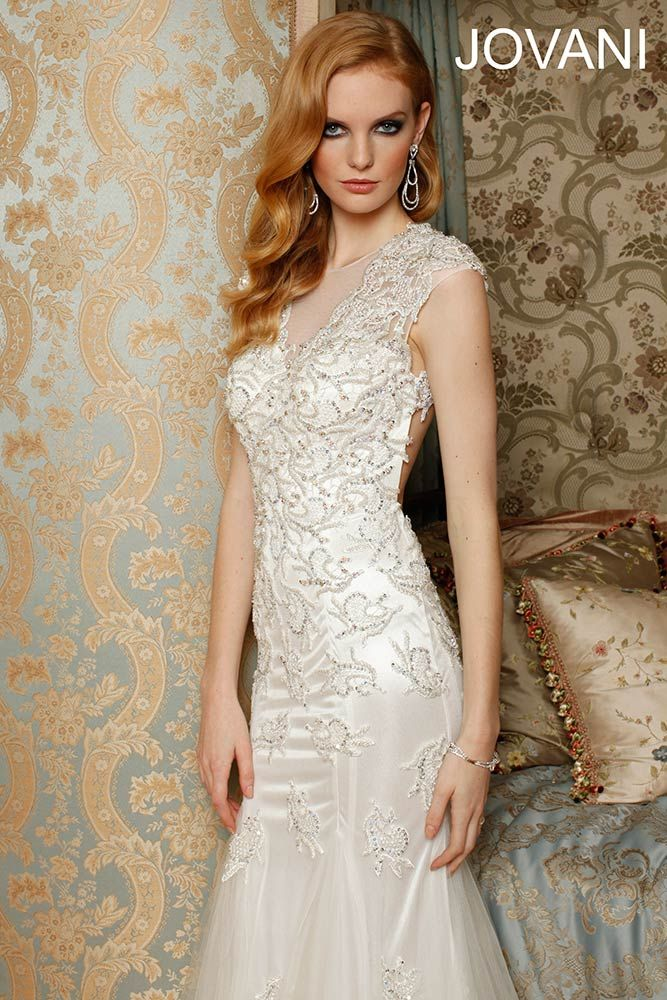 Jovani Wedding Dress- So elegant | Fashion <3 | Pinterest | Unique ...