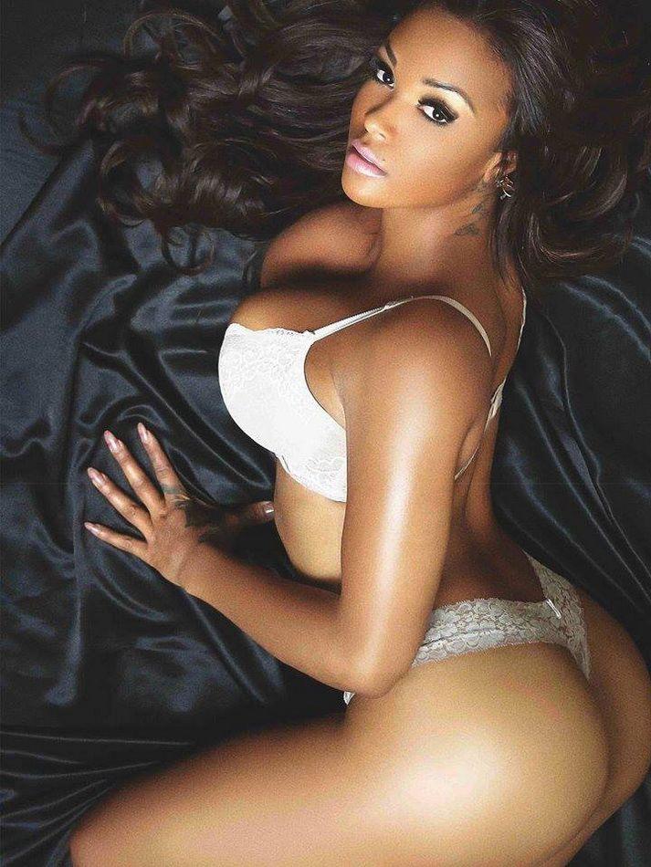 Sexy half black women