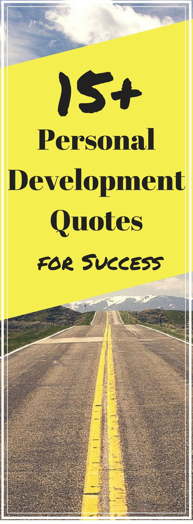 Personal Development Quotes Personal Development Quotes For Success  Inspirational