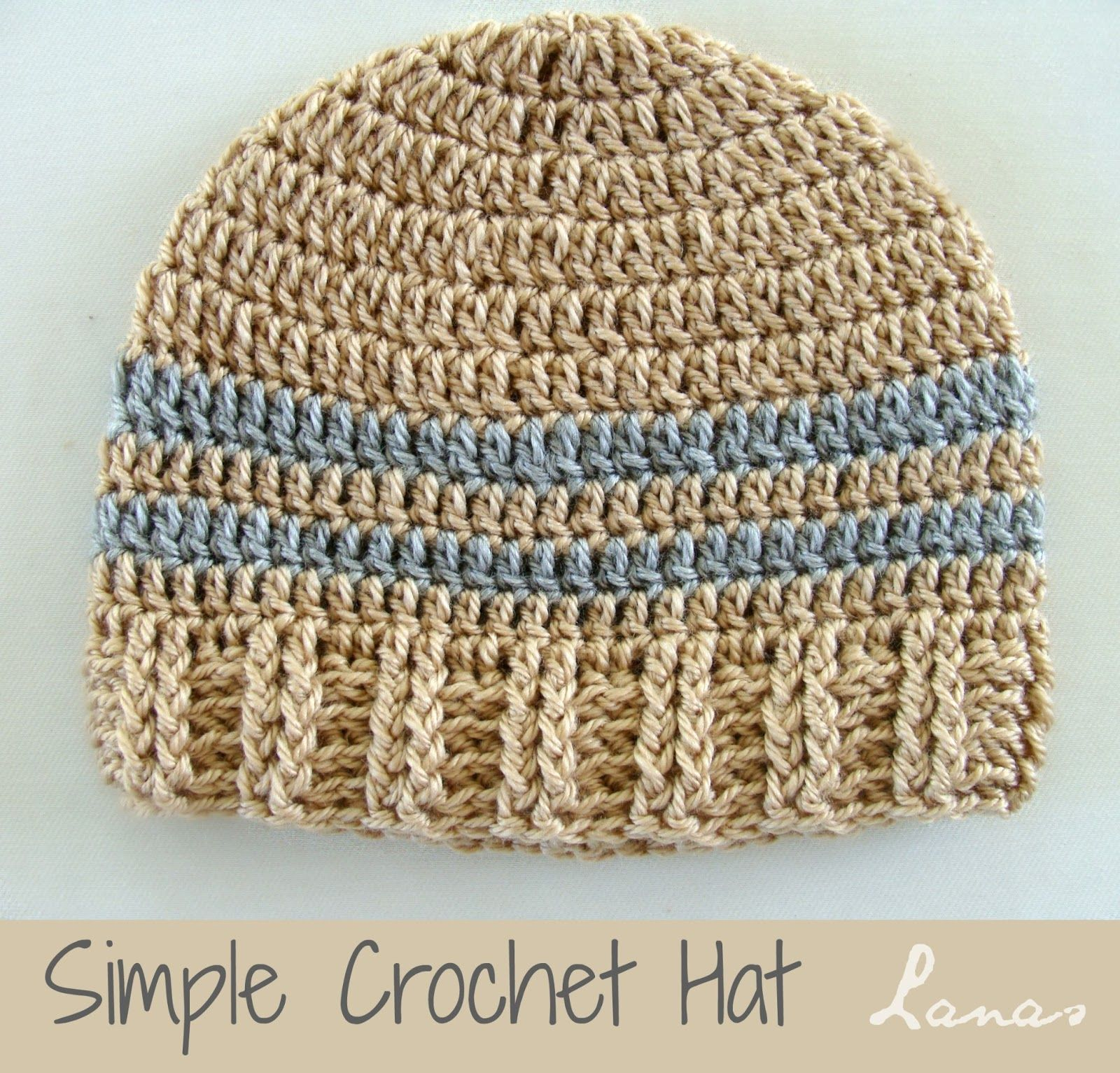 Lanas de Ana Ideas Simple Hats   Crochet, Crochet hats, Knitting