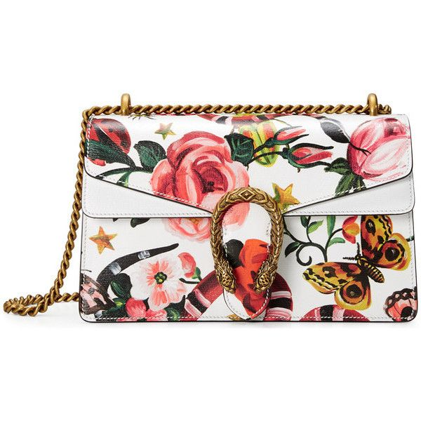 f08e09d3d Gucci Garden Exclusive Dionysus Shoulder Bag ($2,490) ❤ liked on Polyvore  featuring bags, handbags, shoulder bags, shoulder hand bags, pocket purse,  ...