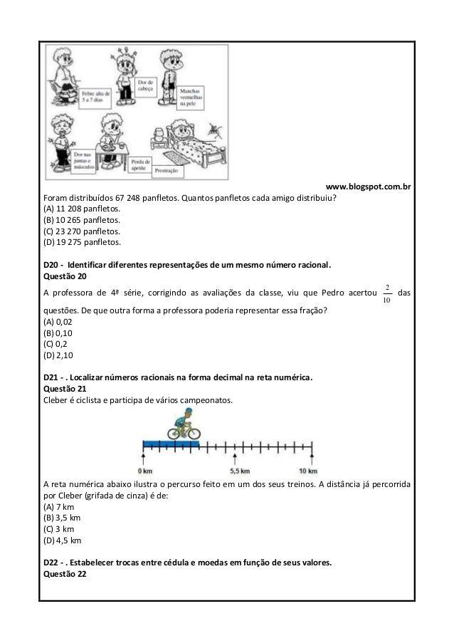 Pin Em Descritores De Matematica
