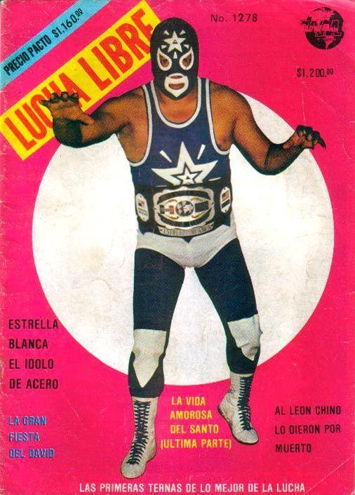 Awesome Vintage Lucha Libre Poster Wrestle Wrestle Wrestler