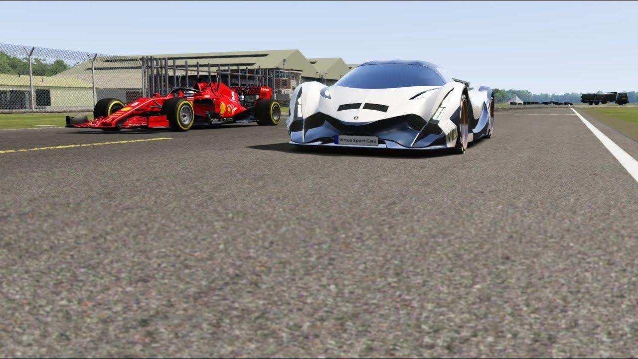 F1 Ferrari Sf1000 2020 Vs Devel Sixteen 2019 At Top Gear In 2020 Ferrari Top Gear Amazing Cars