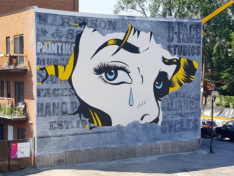 Mural festival 2016 toutes les cr ations du festival for Dessin mural
