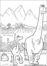 Desenhos Do O Bom Dinossauro Para Colorir Paginas Para Colorir