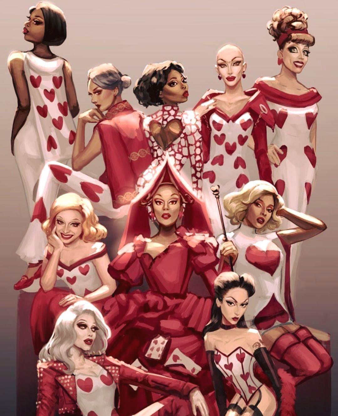 Call Me Queen Of Hearts Rupauls Drag Race