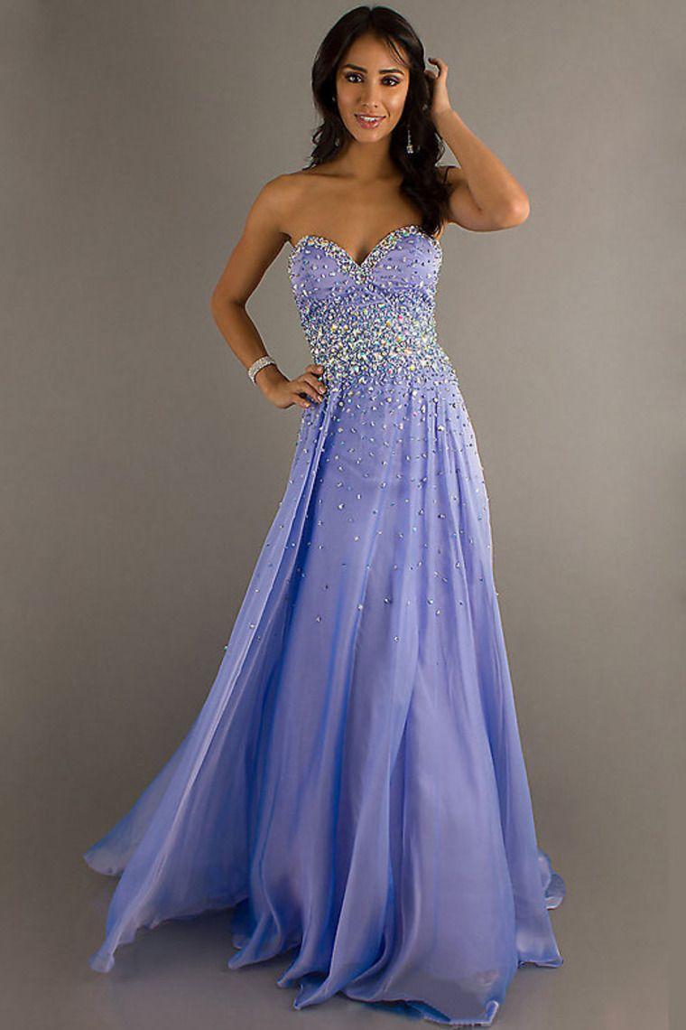 sweetheart beaded bodice chiffon prom dress pick up long skirt