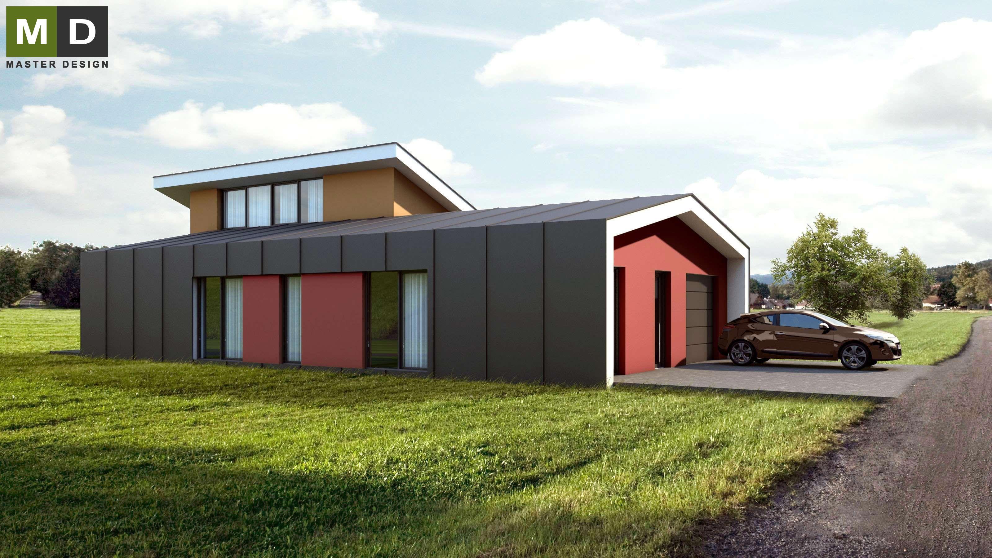 Dřevostavby s plochou střechou