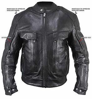Xelement B4495 Bandit Men S Black Buffalo Leather Cruiser Motorcycle Jacket With X Armor Protection Motorcycle Jacket Cruiser Motorcycle Buffalo Leather