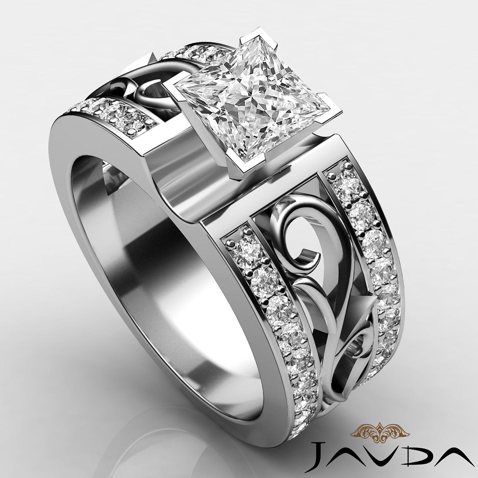 JAVDA Engagement Ring Mens wedding rings, Wedding rings