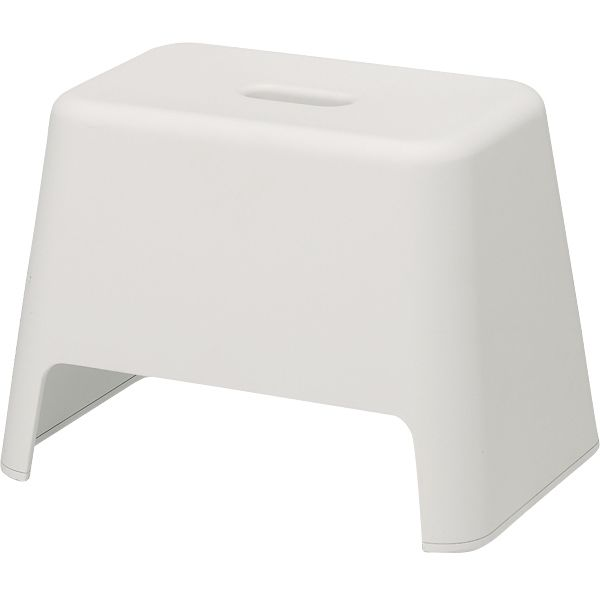 Muji Stool   Great For: Sitting On In The End Of The Bathtub When Baby Is  Still Using Mini Tub. For Sitting Outside The Tub When Kiddo Is Big Enough  To Use ...