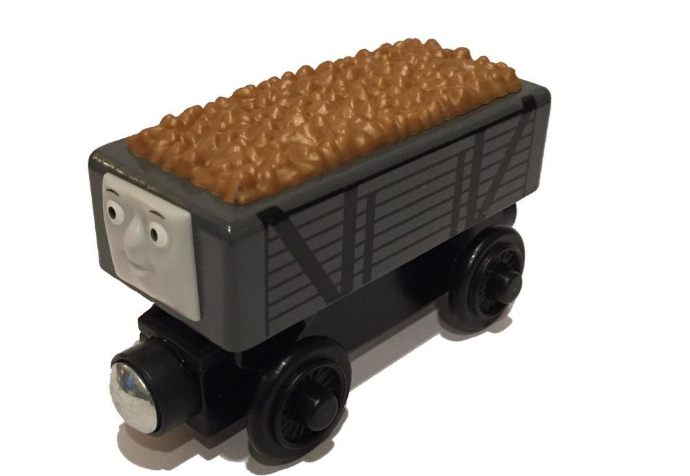 Gold Rickety Troublesome Truck Thomas Wooden Railway New