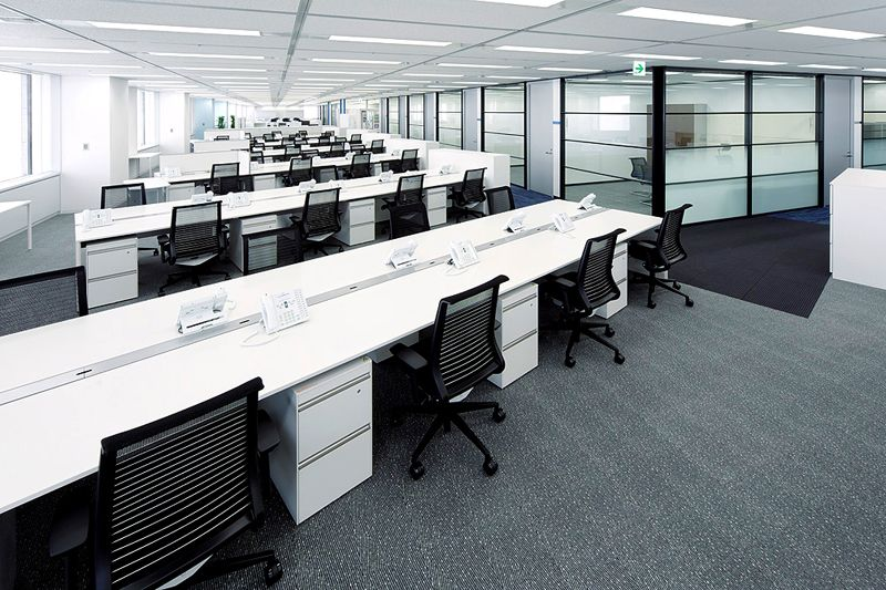 Office design and productivity nvleefos work spaces for New office layout design