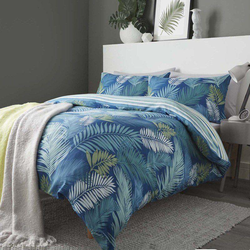 Tropical Bedding Set Teal Tropical bedding sets, Duvet