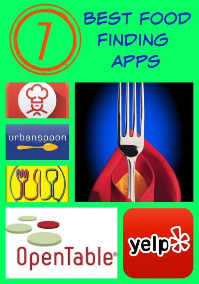 7 Best Food Finding Apps for your cell phone