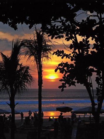Sunset at Legian Beach, #Bali