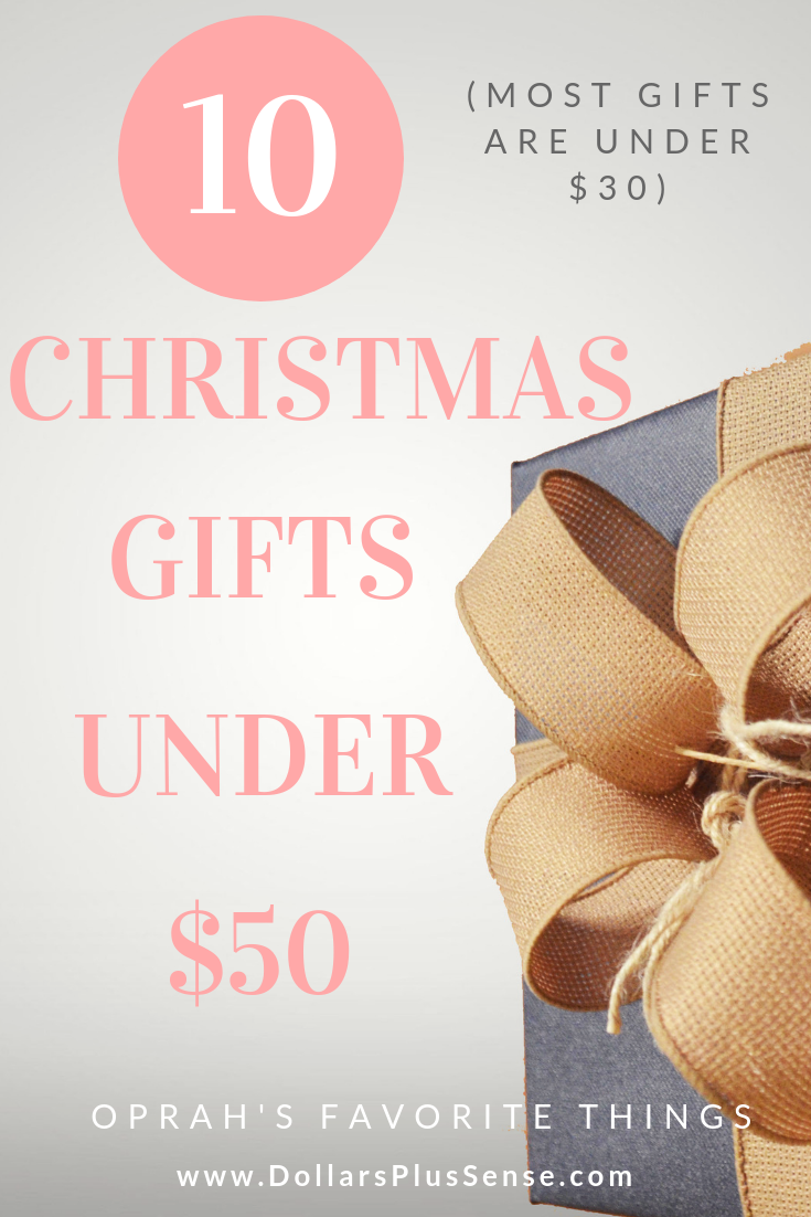 10 Amazing Gifts Under 50 On Amazon Oprah S Favorite Things 2019 Budget Christmas Gifts Christmas On A Budget Dollar Gift