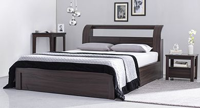Design A Bedroom Online Entrancing Bed Designs Buy King Amp Queen Size Beds Online Urban Ladder Ideas 2018