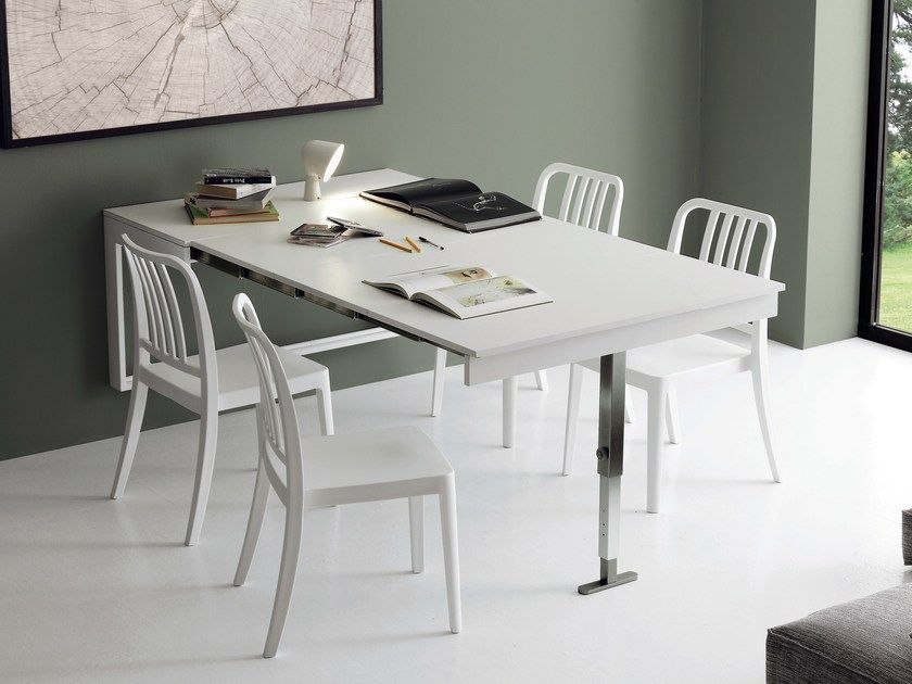 Wall Mounted Extending Kitchen Table Dory By Ideas Group Modern