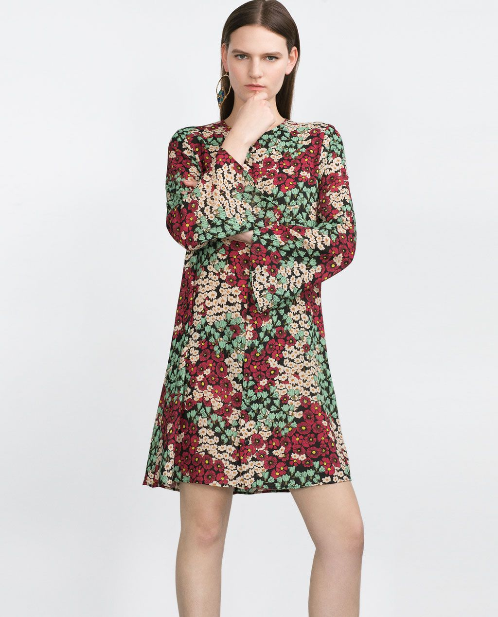 Image 2 of floral dress from zara womens dresses