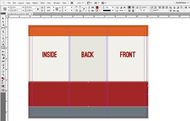 How To Make A Brochure In Indesign Printaholic Com How To Make Brochure Indesign Graphic Design Student