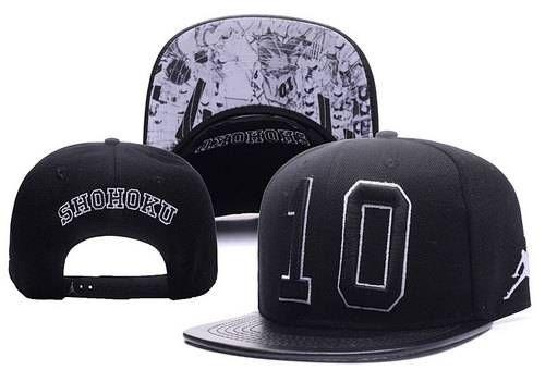 466d1b2db6c SHOHOKU 10 Jordan Snapbacks Hats 2