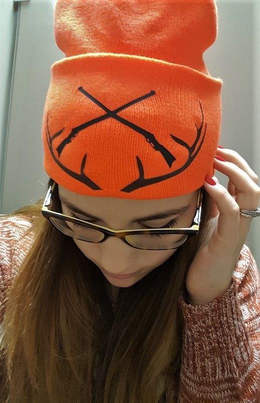 Blog Siser North America Orange Beanie Blaze Orange Deer Hunting Hat