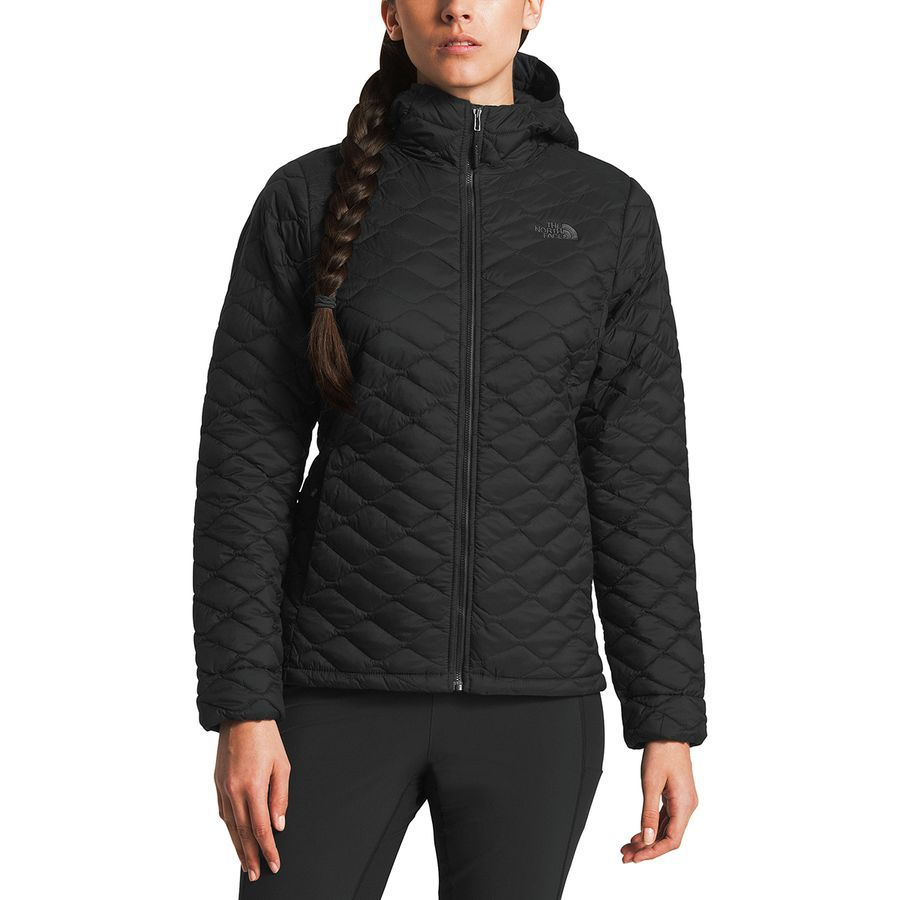 The North Face Thermoball Hooded Insulated Jacket Women S Tnf Black Matte Jackets Jackets For Women North Face Women [ 900 x 900 Pixel ]