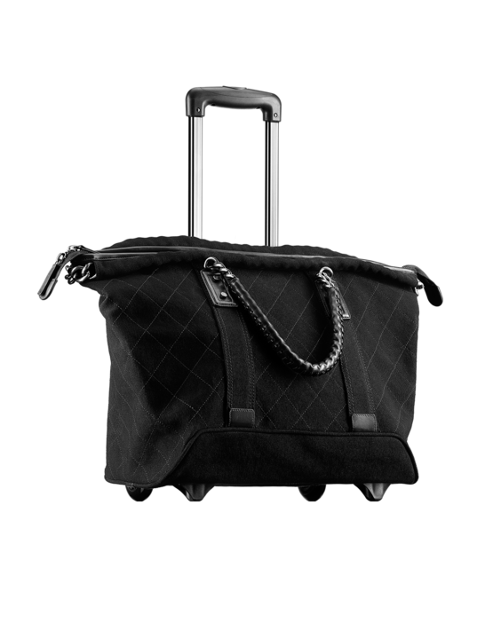 This Chanel Trolley Bag Takes The Travel To A Whole New Level