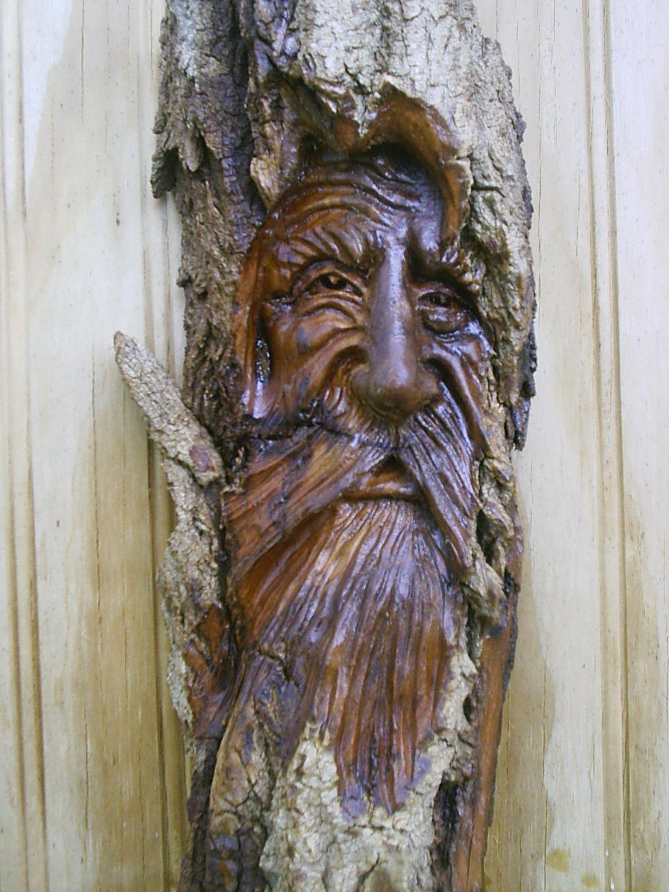 Wood spirit g  carvings pinterest