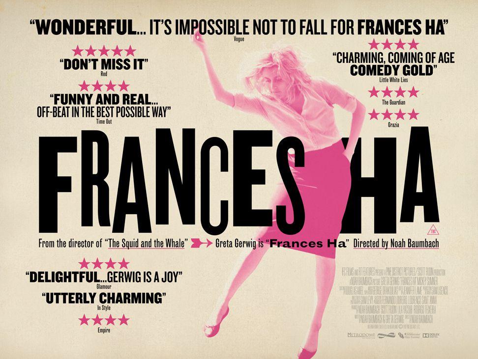 """延伸閱讀_GoodyGoodyEason_""""Frances Ha / 紐約哈哈哈""""  http://goodygoodyeason.blogspot.tw/2013/12/frances-ha.html"""