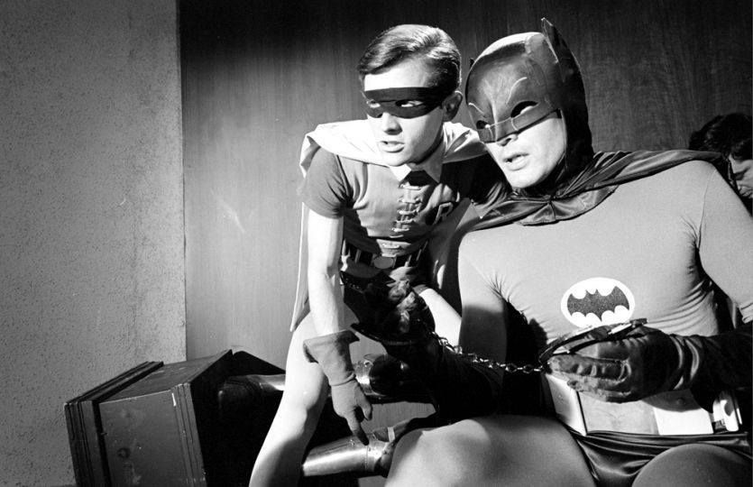Batman and Robin are outriddled! Batman tv show, Batman