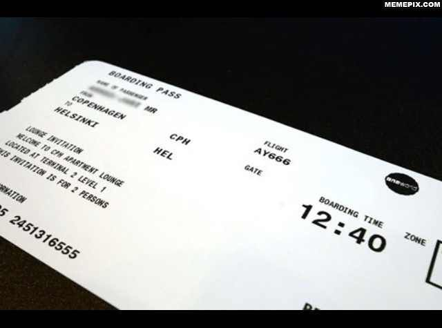 Flight 666 to HEL on Friday the 13th. What could go wrong?