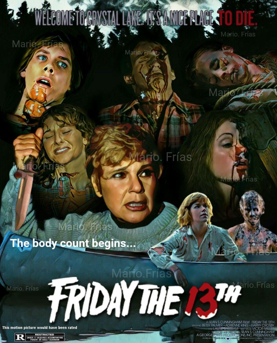 friday the th horror movie slasher fan made edit by mario friday the 13th 1980 horror movie slasher fan made edit by mario friacuteas