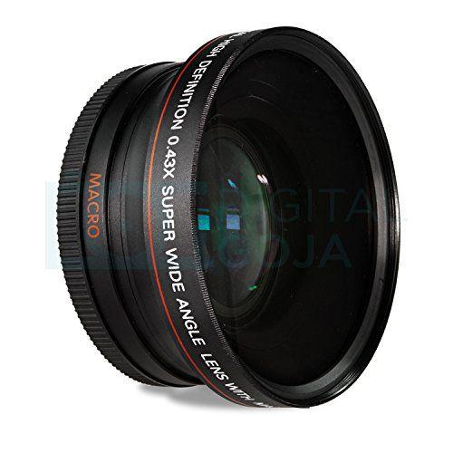 67mm 043x Altura Photo Professional Hd Wide Angle Lens W Macro