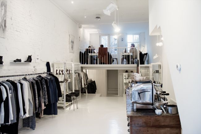 Cottoncake amsterdam shop pinterest latte retail and interiors