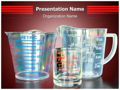 Measuring cups powerpoint template is one of the best powerpoint measuring cups powerpoint template is one of the best powerpoint templates by editabletemplates toneelgroepblik