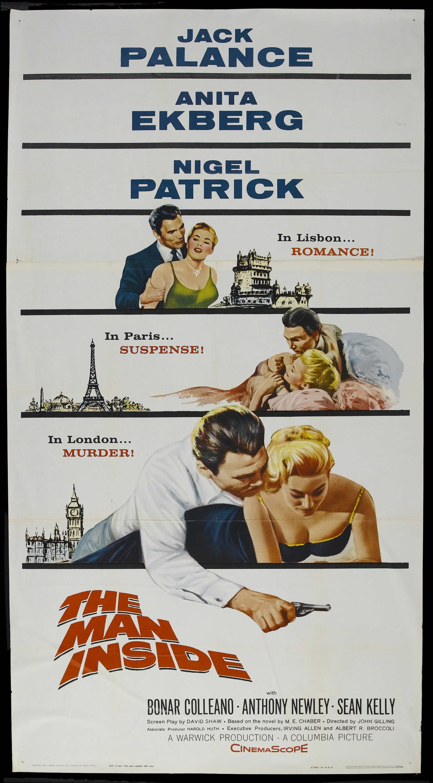 The Man Inside (1958) Stars: Jack Palance, Anita Ekberg, Nigel ...