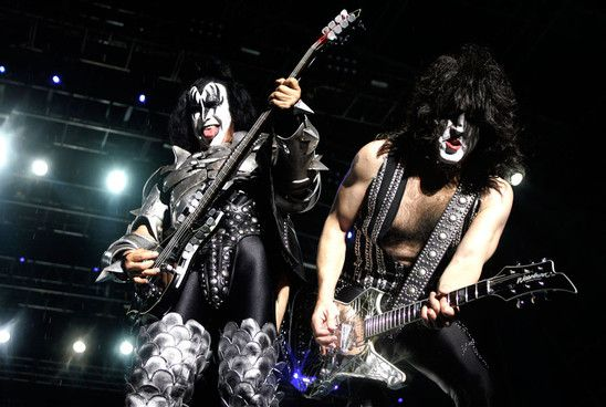 KISS performing Live!