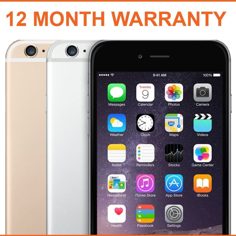 b08b2794498 Apple iPhone 6 16GB Factory Unlocked Sim Free Smartphone - Various Colours