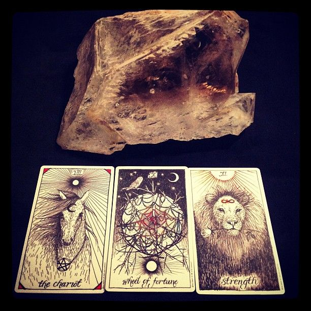 Three Favorites Of The Most Beautiful Tarot Deck From Kimkrans