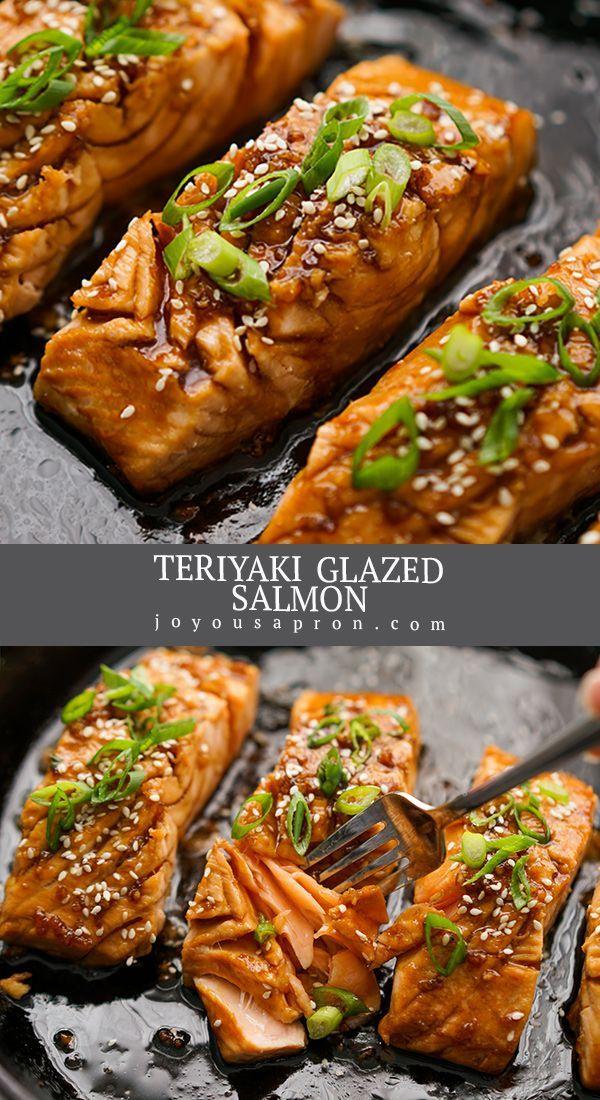 Salmon with Homemade Teriyaki Sauce