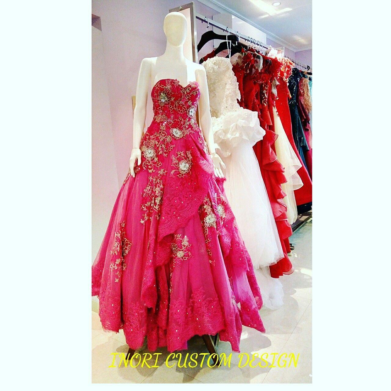 Party gown fashion designer by wa fashiom desgner