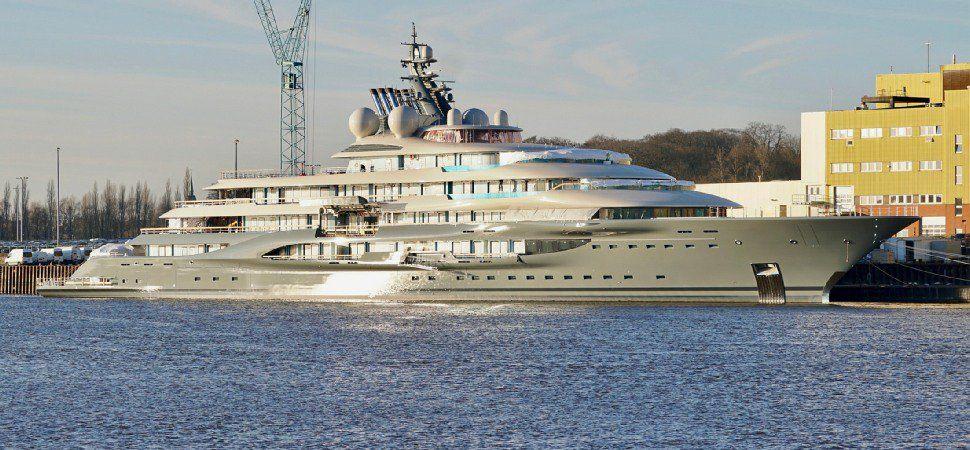 Inside Flying Fox Yacht Lurssen 2019 Value 400m Owner Jeff Bezos Yacht Super Yachts Lurssen Yachts