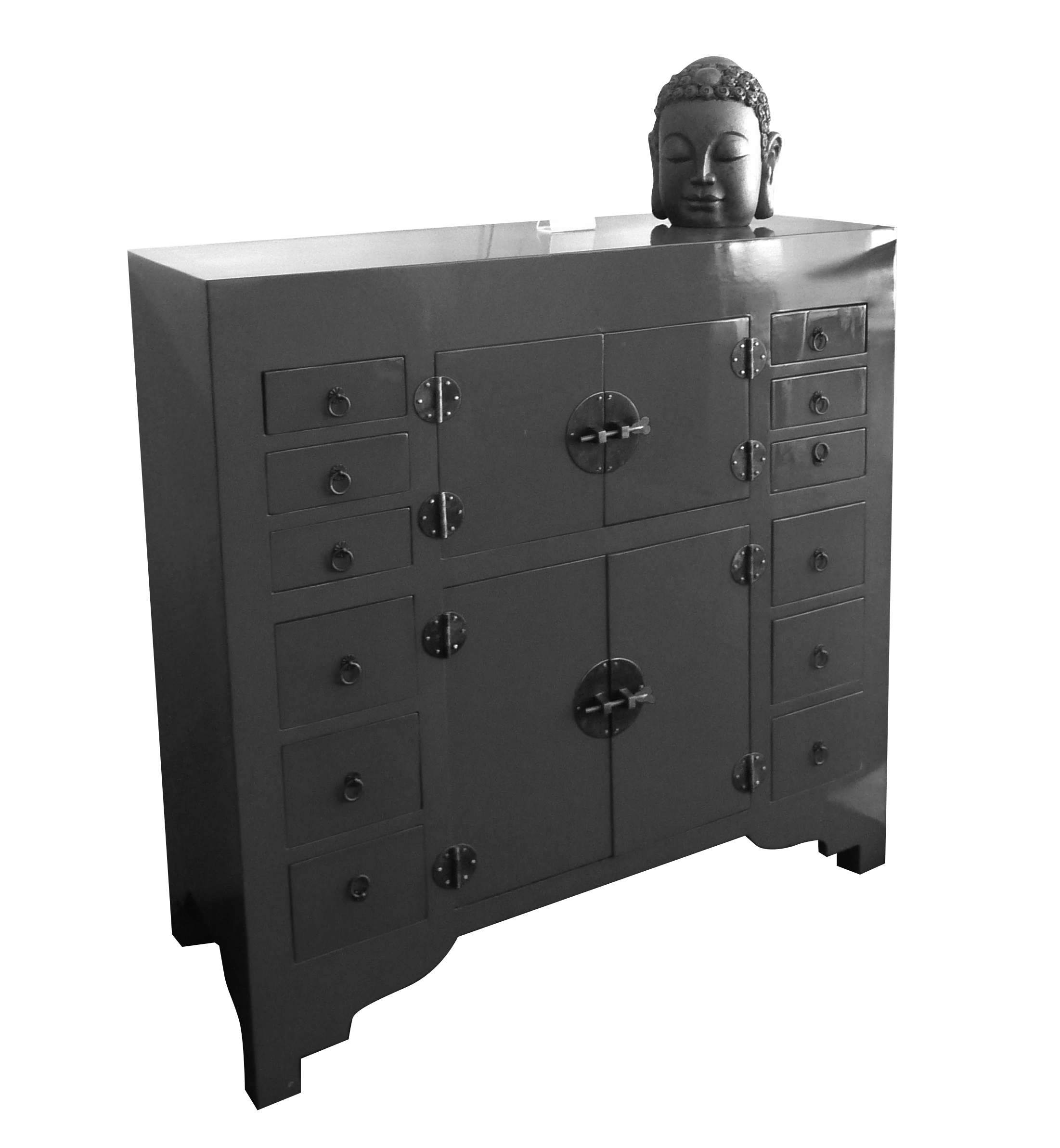 12 drawers cabinet Available: Red, Black, Grey, White ...