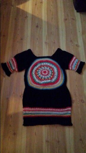 I crochet dress  No pattern. .